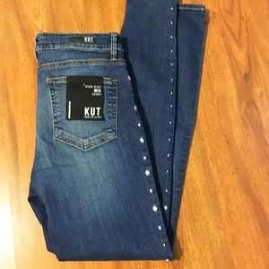 NWT Kut from Kloth Mia High Rise Skinny Jeans 6